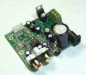 Схема и описание I2S DSD модуля ЦАПа ES9018K2M.