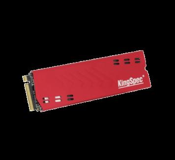 NGFF M.2 NVMe (PCI-E) SSD 120 Gb KingSpec и адаптер M.2 to PCI-e